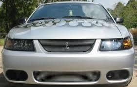 2004 Mustang Cobra Black 03 04 Cobra Bumper Billet Grilles Mrbodykit Com The Most