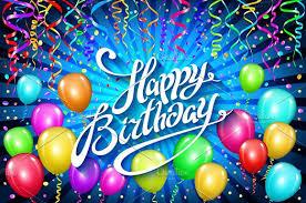 happy birthday balloon happy birthday balloons confetti graphics creative market
