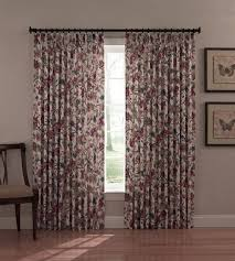 Jacobean Floral Curtains Cornwall Thermal Insulated Drapes With Jacobean Floral Print