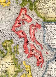 seattle map by county island county washington 1909 map seattle mappery