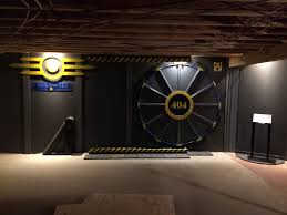 this guy built a fallout vault door for his basement gaming room