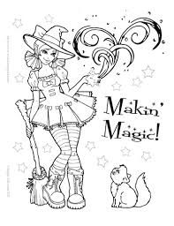 coloring pages cute halloween coloring pdf pages kids