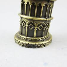 italy leaning tower of pisa model models retro ornaments
