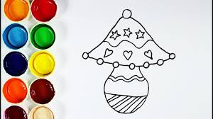 how to draw and color table lamp coloring pages for kids youtube