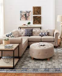 Sectional Sofa With Ottoman Best 25 Tufted Sectional Sofa Ideas On Pinterest Tufted