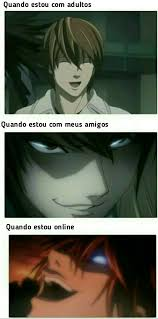 Online Friends Meme - bem isso kkkk otaku pinterest memes death note and anime