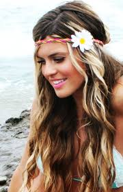 hippie flower headbands 20 chic hairstyles with headbands for women hair style