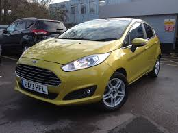 ford fiesta zetec 1 5 tdci 5dr in mustard 2013 now sold by