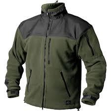 helikon tactical army warm fleece jacket classic outdoor polar
