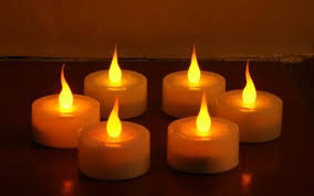 battery operated candles lights