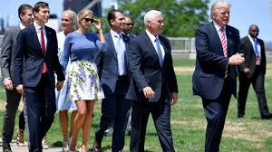 Donald Trump Family Pictures by Trump Denies Inquiry About Security Clearance For Kids Cnnpolitics