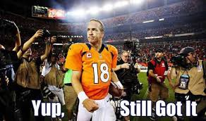 Broncos Losing Meme - denver broncos playoff tickets 2014 peyton manning leads the