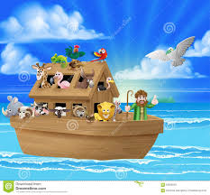 cartoon noahs ark stock vector image 64528593