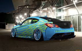 hyundai supercar nemesis sky blue hyundai tuned car hyundai pinterest cars and wheels