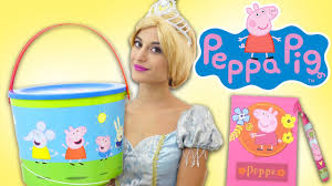 Peppa Pig Play Doh Cinderella Peppa Pig Play Doh Activity Box Learn Numbers W