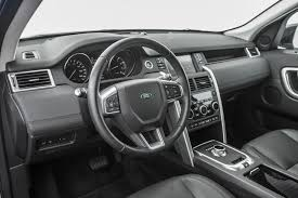 old land rover discovery interior 2015 land rover discovery sport first test motor trend
