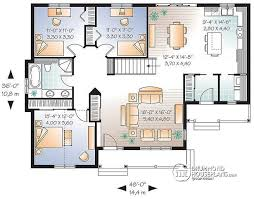 large bungalow house plans pretty design three bedroom bungalow 2 3 house designs and floor