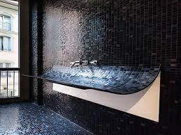 tiled bathroom ideas glass tile bathroom ideas trellischicago