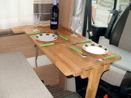 collapsible folding rv motorhome coffee table how to make a folding dinette table for your motorhome advice