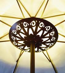 Patio Umbrella With Lights by Best Patio Umbrella Lights Gallery Aamedallions Us Aamedallions Us