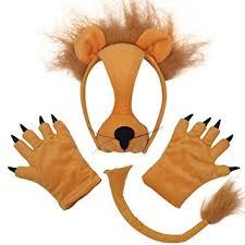 lion mask lion mask paws 3 pc set co uk toys