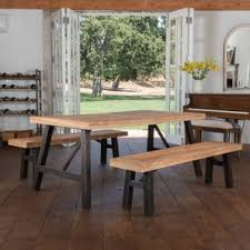 dining room sets with bench bench kitchen dining room sets you ll wayfair