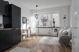 one room home one room apartment in sweden displays function refinement