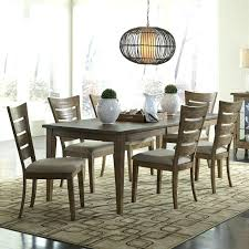 oval dining room set outsunny 7 piece dining table set with cushions 7 piece dining