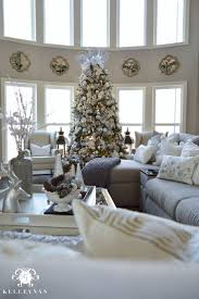 living room silver christmas tree jewcafes