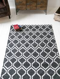 floor white and grey rug design ideas with tile flooring for