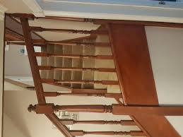 Stairs Without Banister Painting A Dark Varnished Staircase Page 1 Homes Gardens And