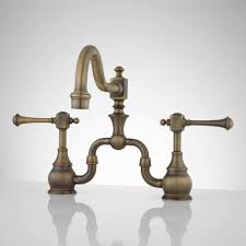antique brass kitchen faucet polished brass kitchen faucets wellspring single handle bar
