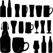 beer glass svg silhouette bottle clipart explore pictures