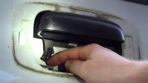chevrolet silverado tailgate latch repair youtube