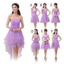 bridesmaid dresses lavender wholesale junior lavender bridesmaid dresses knee length