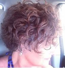 The Styling Hutch Curly Inverted Short Hairstyle Hair Style Pinterest