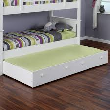 Twin Bed Frame With Trundle Pop Up Pop Up Trundle Bed Frame U2013 Nice Accent For Playful Bedroom Homesfeed