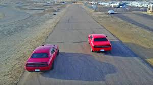 Dodge Challenger Awd - dodge challenger hellcat vs awd challenger gt race ends