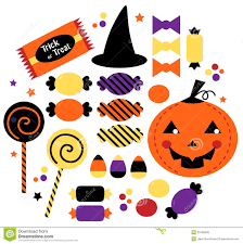 halloween graphics free halloween cute sweet candy collection royalty free stock images