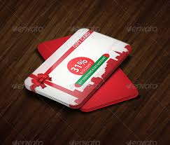 discount gift card 15 premium loyalty card design templates