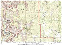 Utah Map National Parks by Mystery Canyon Zion National Park Technical Canyoneering