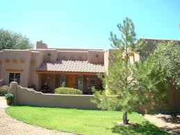 adobe style home santa fe style courtyards back to album santa fe style home