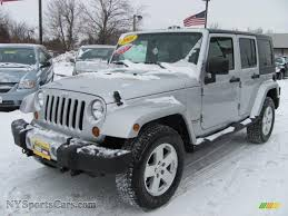 grey jeep rubicon 2008 jeep wrangler unlimited sahara 4x4 in bright silver metallic