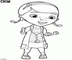 doc mcstuffins chilly coloring pages