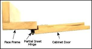 Inset Cabinet Door Partial Inset Cabinet Door Hinges Hum Home Review
