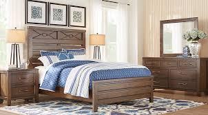 dark wood king bedroom sets cherry espresso mahogany brown etc
