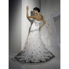 Cheap Wedding Dresses Corset Wedding Dresses Black And White For Cheap Pictures