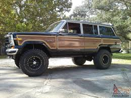 lifted jeep truck jeep wagoneer classic