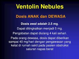 Obat Ventolin Untuk Nebulizer terapi inhalasi dr anang