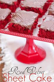 red velvet sheet cake with nutella fudge icing picky palate